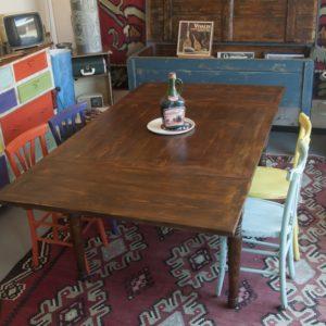 Art. TP20 - Tavolo a tiro in legno di abete, Toscana, ultimo quarto 800'