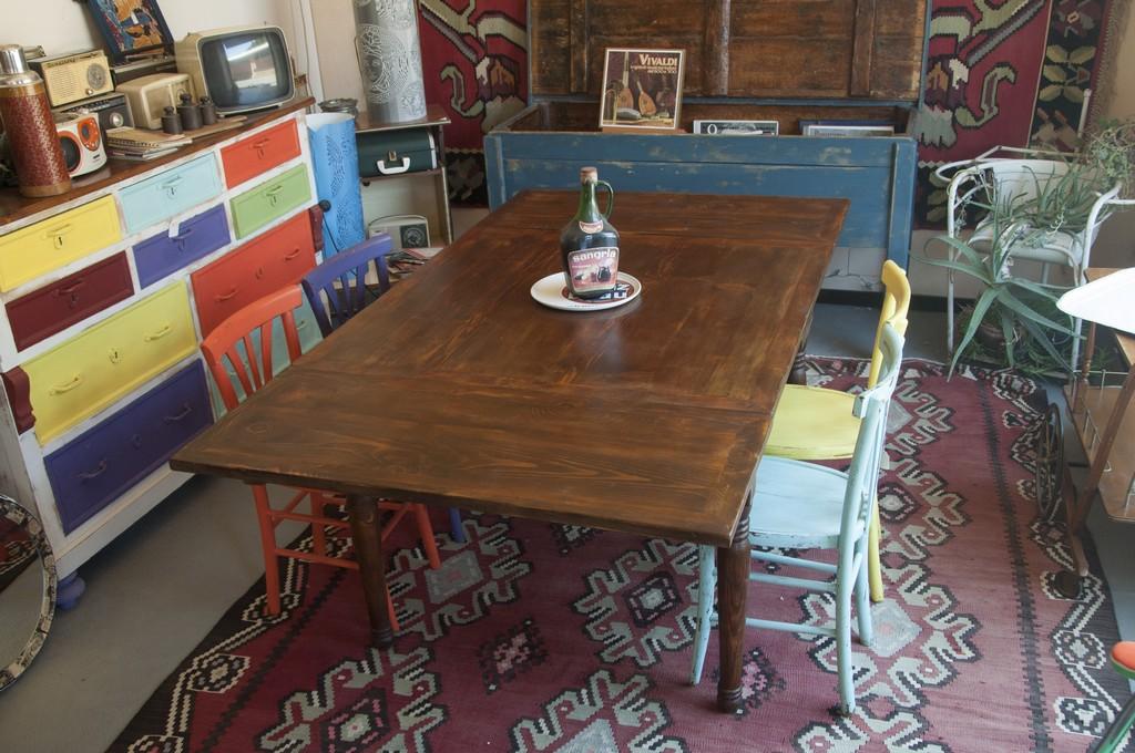 Art Tp20 Tavolo A Tiro In Legno Di Abete Toscana Ultimo Quarto 800 Casaviva Antiquariato Vintage
