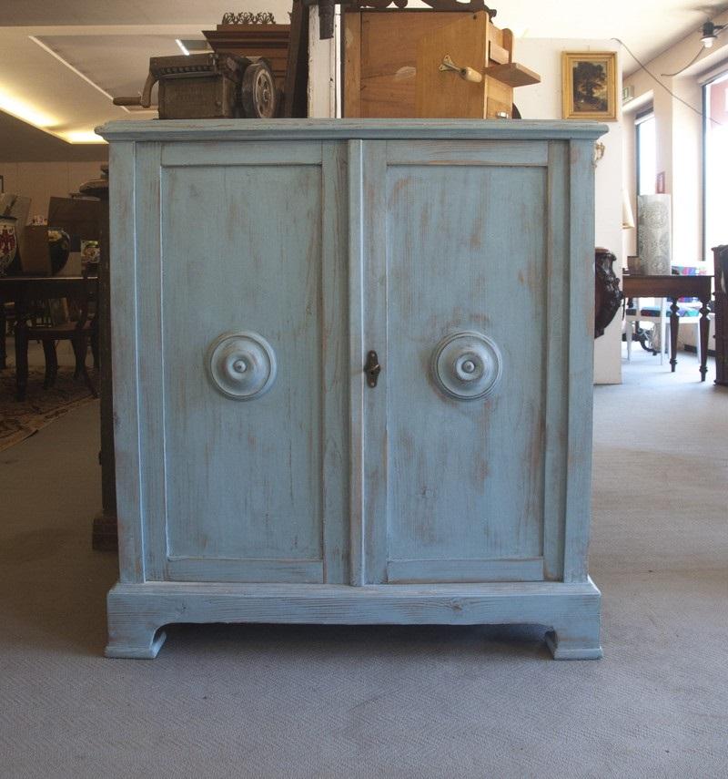 Art. CR10 - Credenza scarpiera in legno, Toscana, fine 800'